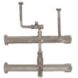 Комплект труб подачи и обратки для одиночного котла LUNA Platinum+ Baxi (KHG71411721)